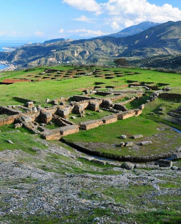 Hotel Lido Ancient Aigira Greek Theatre Peloponnese Greece