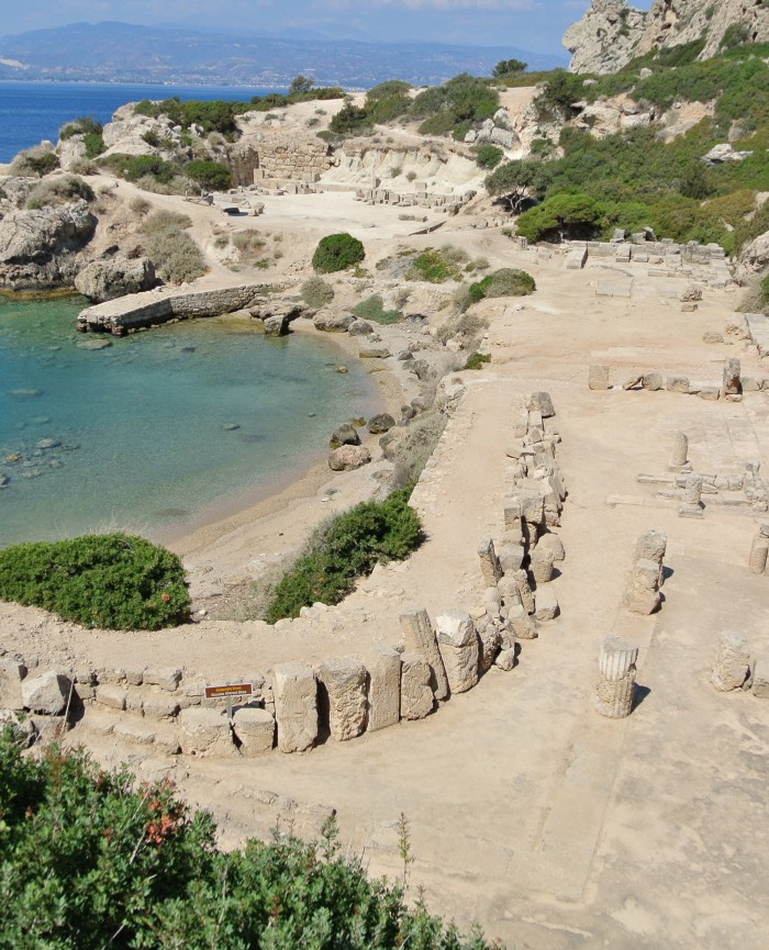 Hotel Lido Hera Sanctuary Ireon Boat Ancient Greece