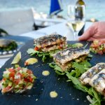 fish dish at lido hotel