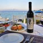 kyllene wine at lido hotel's restaurant