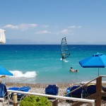 windsurf free use at lido hotel peloponnese