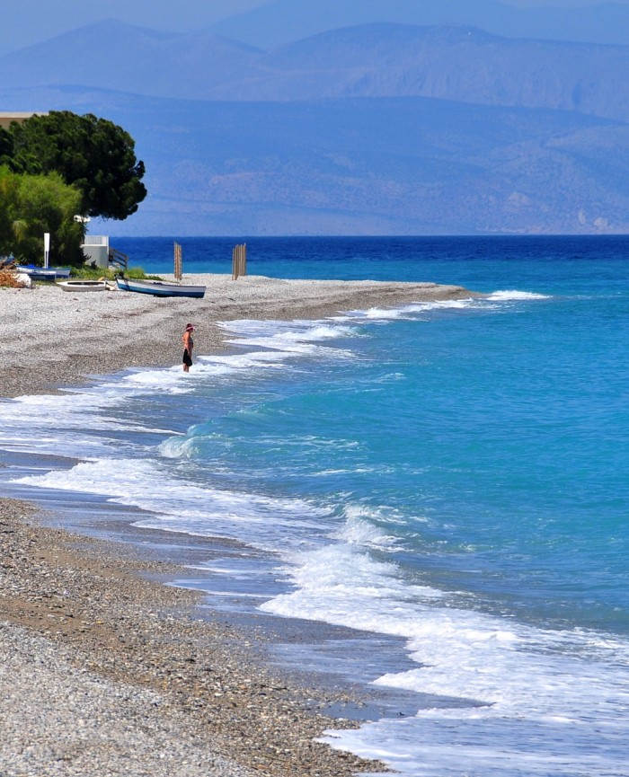 sykia beach near lido hotel melissi