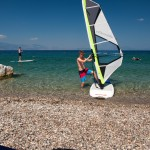 windsurf lessons beach hotel greece