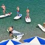 windsurf sup rental beach resort greece