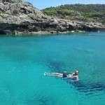 crystal clear water peloponnese snorkeling