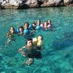 diving famili lido snorkeling