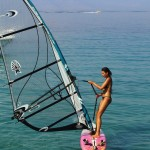 windsurfing lessons at lido hotel peloponnese