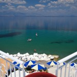 hotel in greece by the sea with sea sports