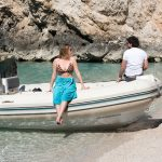 private beach boat excursions