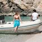 private beach boat excursions