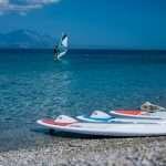 windsurfing seaside hotel melissi greece