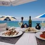 Restaurant seaside tradirional greek cuisine
