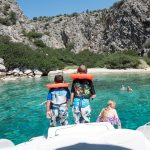 access remote beaches in greece