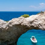 cave exploring at the gulf of corinth with lido hotel boat trips