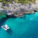 snorkeling trips by boat in greece