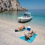 Boat trip Corinthian Gulf organised by Lido Hotel