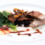 Seaside restaurant hotel greece dishes bio organic Mediterranean