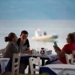 Seaside restaurant with tradiotional Greek dishes