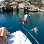Boat Trips around Corinthian Gulf with private boat