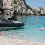 boat trips to white sand beach peloponnese