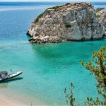 boat tours to remote slands near corinth